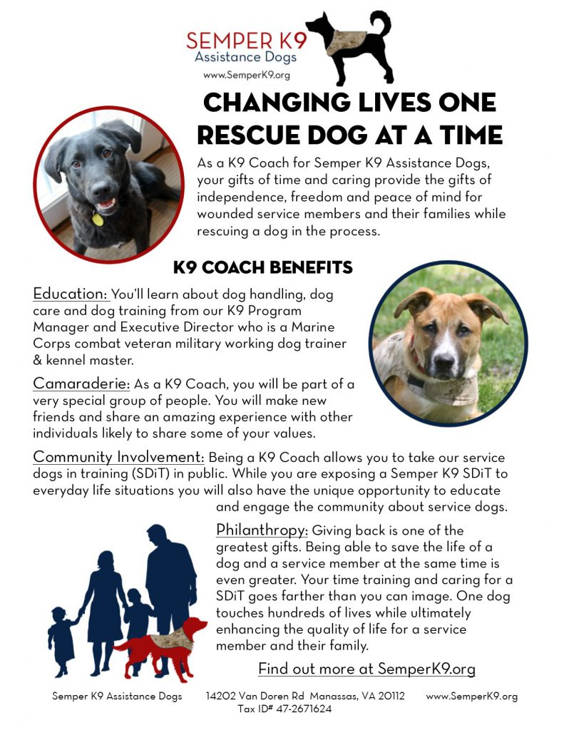 K9 Coach Infographic