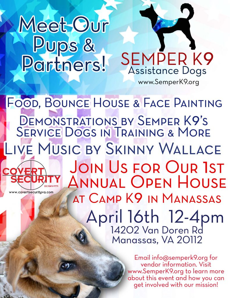Semper K9 Open House Flyer Final Covert