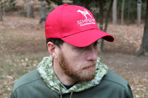 Semper K9 Hat Red